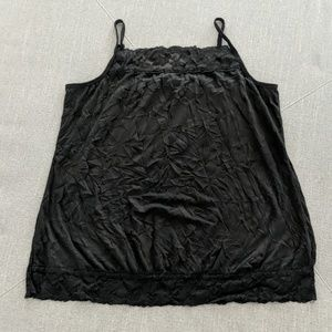 Lace Crinkle Cami